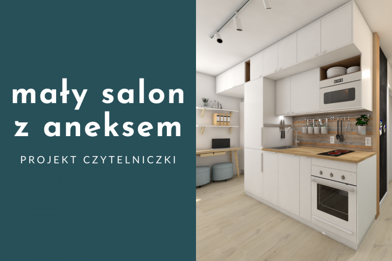 Mały salon z aneksem w bloku – jak go urządzić?