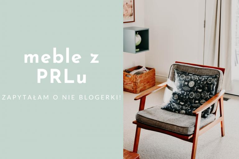 Jak aranżować meble z PRLu? Najlepsze tricki blogerów wnętrzarskich