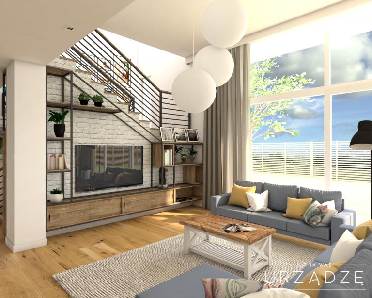 Przestronny dom w klimacie modern farmhouse