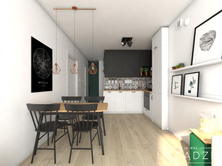 Eklektyczne mieszkanie dla pary
